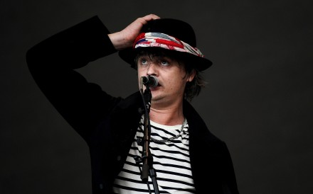 Pete Doherty of The Libertines performs at Glastonbury Festival in 2015. Photo: Reuters