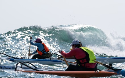 The Steelcase Dragon Run, November 2019, is a surfski and outrigging race from Clear Water Bay to Stanley. Photos: Steelcase Dragon Run