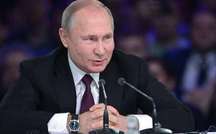 Russian President Vladimir Putin. Photo: AFP