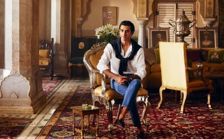 Padmanabh Singh is the 21-year-old 'king' of the northwestern Indian city of Jaipur. Photo: Courtesy of Airbnb