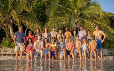 "These 20 castaways set out to compete on ""Survivor: Island of the Idols."" (Robert Voets/CBS Entertainment/TNS)"