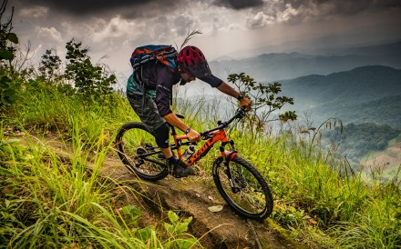 The twin peaks of Doi Suthep and Doi Pui in northern Thailand are a magnet for mountain bike riders from across Asia. Hiring guides in Chiang Mai who know the many unmarked trails can make your ride a memorable adventure. Photo: Steve Thomas
