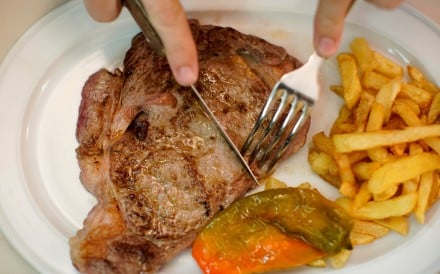 Eating meat, or not eating meat, can cause a heated debated as people's diets have become as embedded in their world view as politics. Photo: Reuters