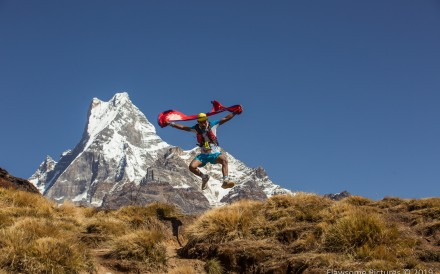 The Annapurna 100 and 55 ultramarathons follow the most beautiful course in the world. Photo: Flawesome Pictures