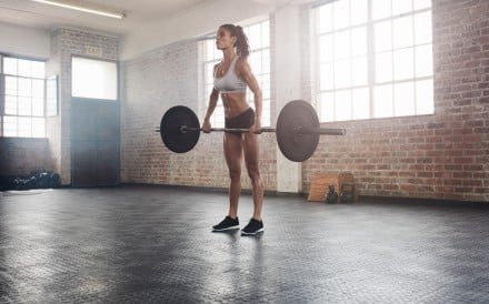 CrossFit tests athletes in a variety of movements, from weightlifting to gymnastics. Photo: Getty Images/iStockphoto