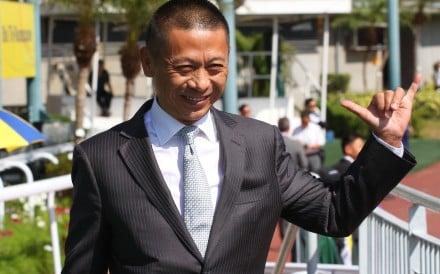 Danny Shum celebrates his 600th winner in Hong Kong. Photos: Kenneth Chan