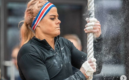 Sara Sigmundsdottir sits top going into the final day of the Filthy 150. Photo: Instagram/Filthy 150