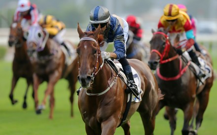 Aethero wins at Sha Tin in October. Photos: Kenneth Chan
