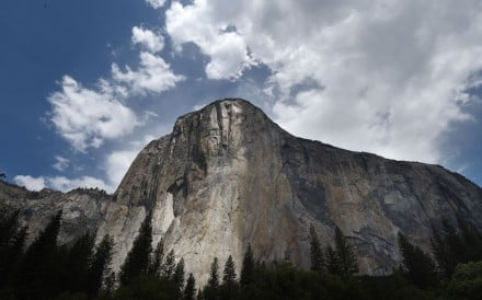 El Capitan in Yosemite, where Emily Harrington fell. Photo: Agence France-Presse
