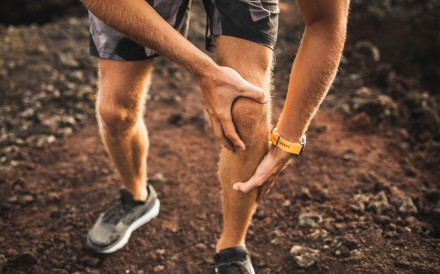 Knee injuries are common in runners. Photo: Shutterstock