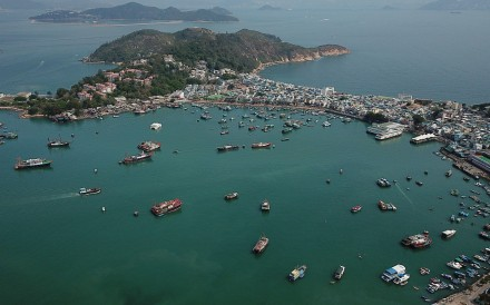 The quake struck near Cheung Chau Island shortly after noon. Photo: Roy Issa