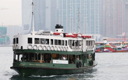 A Star Ferry crosses Victoria Harbour. Photo: Edward Wong