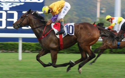 More Than This salutes under Karis Teetan at Sha Tin last month. Photos: Kenneth Chan