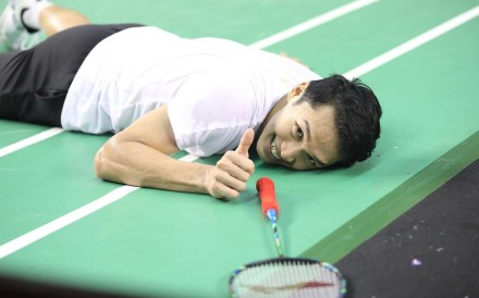 Indonesia's Jonatan Christie is ranked as one of the best badminton players in the world – and is a viral sensation and national hero to boot. Photo: Instagram