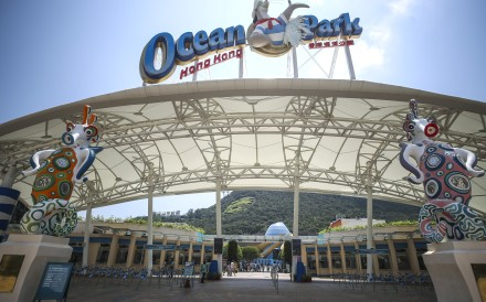 Ocean Park's visitor numbers have suffered because of the anti-government protests sweeping Hong Kong. Photo: Winson Wong