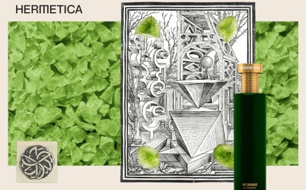 Hermetica's Jade888 fragrance is one of a number of environmentally friendly, 'clean' and sustainable fragrances now available.
