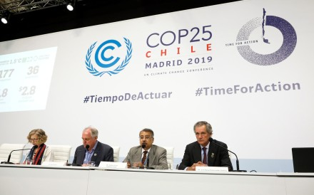 The United Nations climate change conference ends on Friday. Photo: EPA-EFE