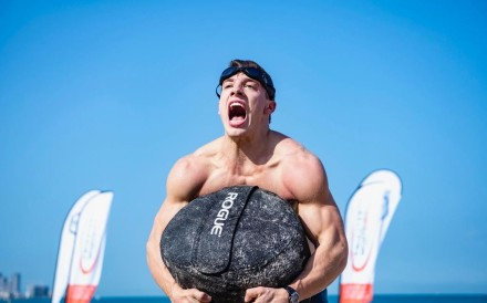 Spencer Panchik is only 23 but already lining up against the heavyweights. Photo: Dubai CrossFit Championship