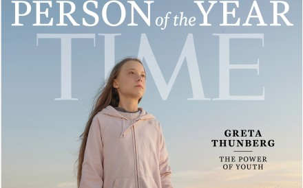 Greta Thunberg is Time magazine's Person of the Year for 2019. Photo: Handout via EPA-EFE