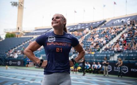 Sara Sigmundsdottir looks unstoppable as she just won back to back Sanctionals. Photo: Dubai CrossFit Championship