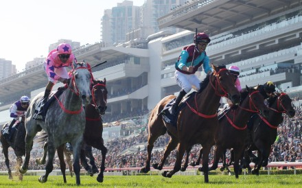 Beat The Clock takes out the Hong Kong Sprint. Photos: Kenneth Chan