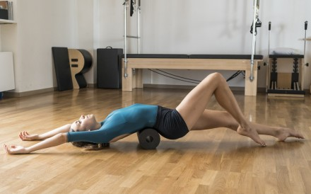 Foam rolling is a great way to release muscles and prevent injury. Photo: Getty Images/iStockphoto
