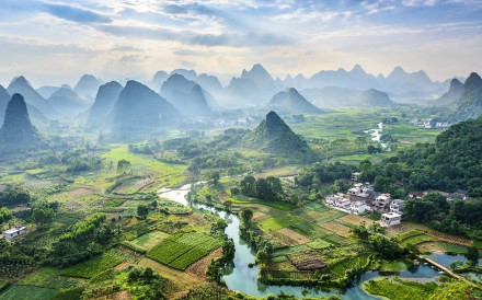 Guilin is another China region that Western tourists flock to. Photo: Shutterstock
