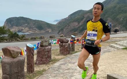 Peiquan Yo has won the HK100 for the men. Photo: HK100