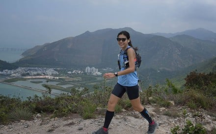 Milk Li is a Hong Kong ultra runner, taking on the Hong Kong Four Trails Ultra Challenge this weekend. Photo: Victoria 162/Daniel Chung