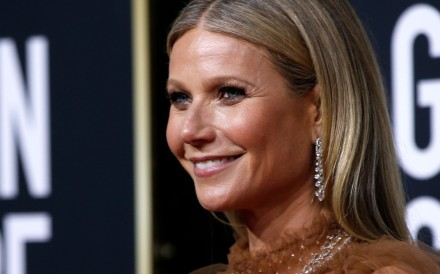 Gwyneth Paltrow at the Golden Globes in January 2020. Photo: Reuters/Mario Anzuoni