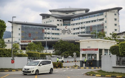Sungai Buloh Hospital outside Kuala Lumpur, Malaysia, where three Chinese citizens have been placed in isolation and are being closely monitored after testing positive for coronavirus. A fourth case was later confirmed in Johor. Photo: EPA-EFE