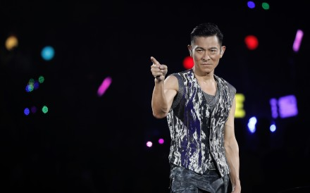 Andy Lau will not be performing in a dozen Hong Kong concerts because of the virus outbreak. Photo: AP