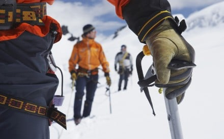 Have the right equipment for wherever you are going, such as an ice axe. Photo: Shutterstock