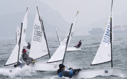 Hong Kong Race Week is part of the Youth Cup, where junior sailors compete in Optimists or Lasers around Asia. Photo: Hong Kong Optimist Dingy Sailing Association