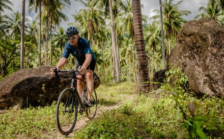 Long-distance off-road cycling on a thin wheel – known as gravel biking – is exploding in popularity. Photos: Steve Thomas