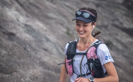 Sarah Pemberton en route to surviving the Hong Kong Four Trails Ultra Challenge on her third attempt. Photo: Viola Shum