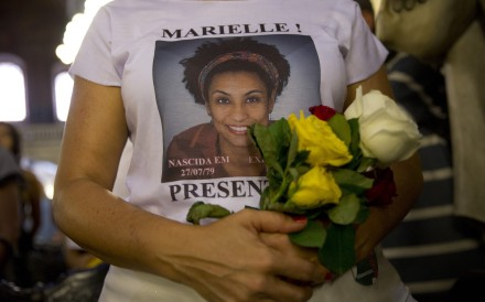 The murder of councilwoman Marielle Franco shocked many in Brazil and overseas. File photo: AP