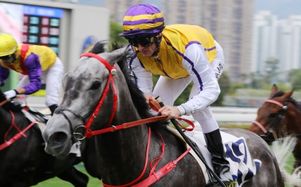 Zac Purton partners El Jefe to victory at Sha Tin on Saturday. Photos: Kenneth Chan
