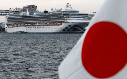 Passengers and crew on the Diamond Princess cruise liner are under quarantine until February 19, 2020. Photo: Reuters