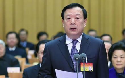 Xia Baolong, the new director of China's Hong Kong and Macau Affairs Office. Photo: Weibo