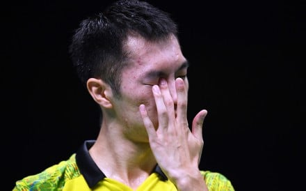 Top player Angus Ng will not play for Hong Kong at the Thomas Cup in Denmark in May. Photo: AFP