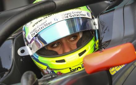 Formula Three driver Sophia Floersch in her HWA Racelab car at the 2019 Macau Grand Prix. Photo: K.Y. Cheng