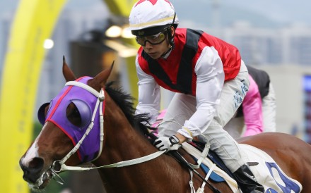 Victor Wong salutes aboard Multimillion in May last year. Photos: Kenneth Chan