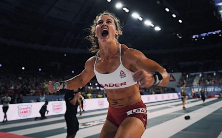Tia-Clair Toomey, the 'Fittest on Earth', at the CrossFit Games. Photo: CrossFit