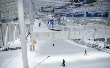 The Sno indoor skiing resort in Lorenskog, Norway. Photo: Odin Jaeger/Bloomberg
