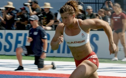 Tia-Clair Toomey running away with the competition at the CrossFit Games. Photo: CrossFit Inc.