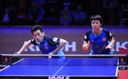 Wong Chun-ting and his mixed doubles partner Doo Hoi-kem aim to challenge for a medal for Hong Kong at the 2020 Tokyo Olympics. They won the Hungarian Open in February. Photo: ITTF