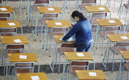 University entrance exams in Hong Kong are expected to start on March 27 and run until May. Photo: Handout
