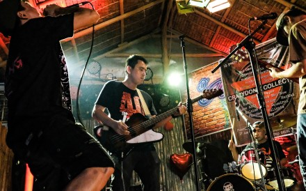 In the Philippines, punk rock remains as alive as ever, with a recent event attended by bands like The Standby (pictured) in Baliuag, Bulacan province the latest in a show of anti-establishment feeling in the country against its leaders. Photo: Sheng Dytioco