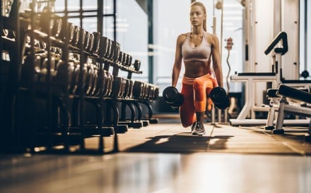 Lunges are one of many ways to stretch and strength your hips. Photo: Getty Images